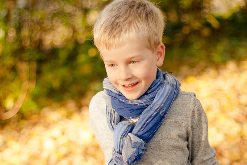 Herbstbilder mit der Bildverarbeitung zum Leuchten bringen